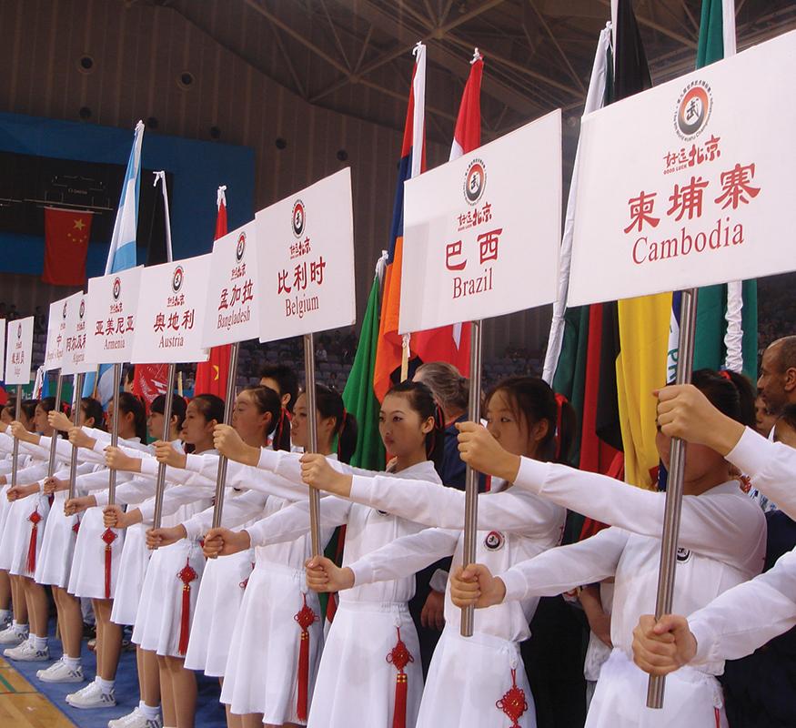 International Wushu Competition