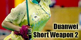 Wushu Grading Form - Duanwei Short Weapon 2