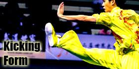 Kicking Form