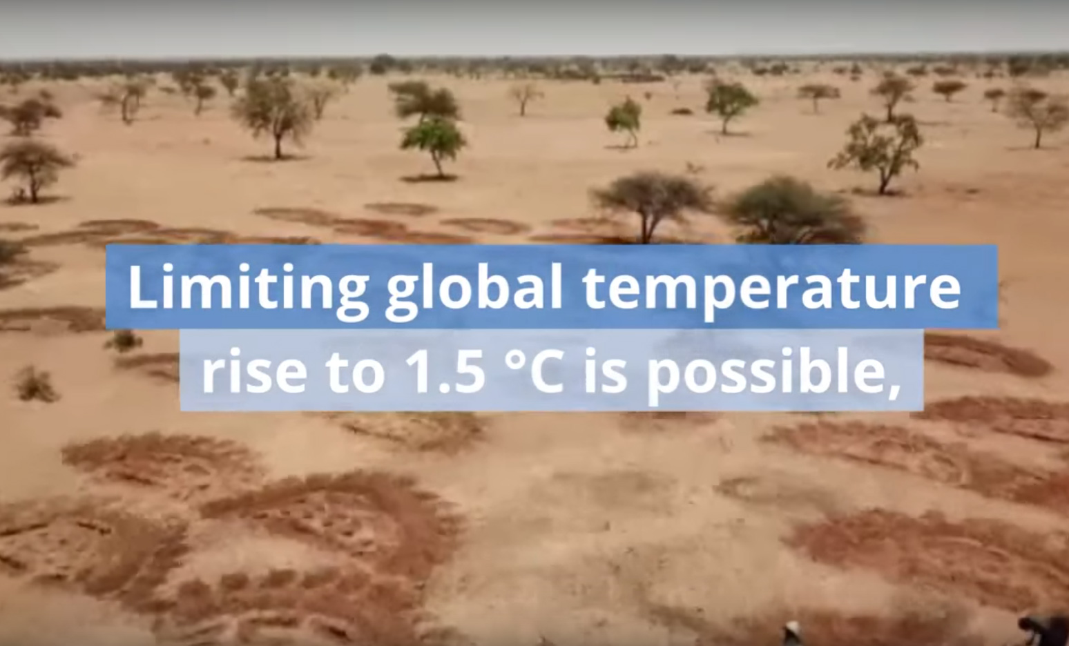 Limiting Global Temperature Threshold video screen