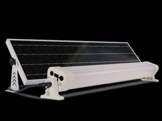 """""""The Work"""" Solar light kit - panel"""