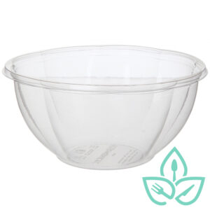 Good Earth Packaging compostable takeaway clear bowl