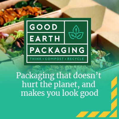 EWC Promotion for Good Earth Packaging - Ad space