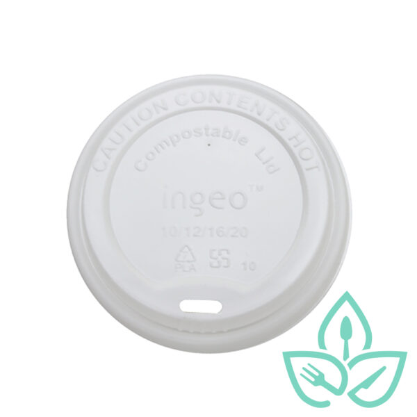 Hot cup lid compostable materials Good Earth Packaging EWC