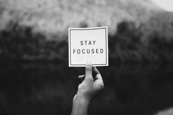 Stay Focused to get fit