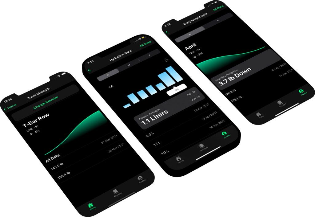 Flex track iphone and android app