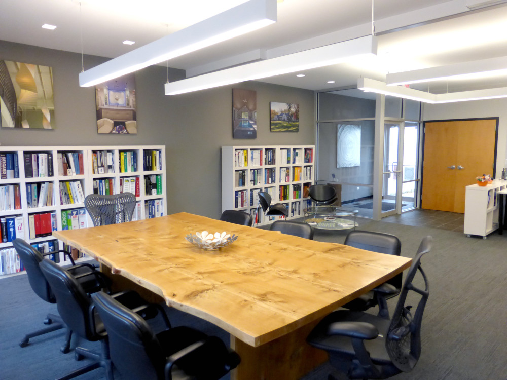 Conference Table and Library