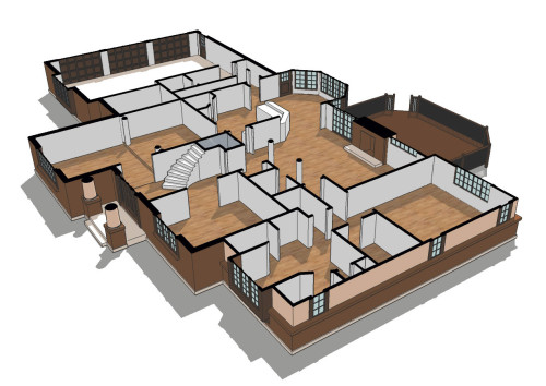 Axonometric Floor Plan