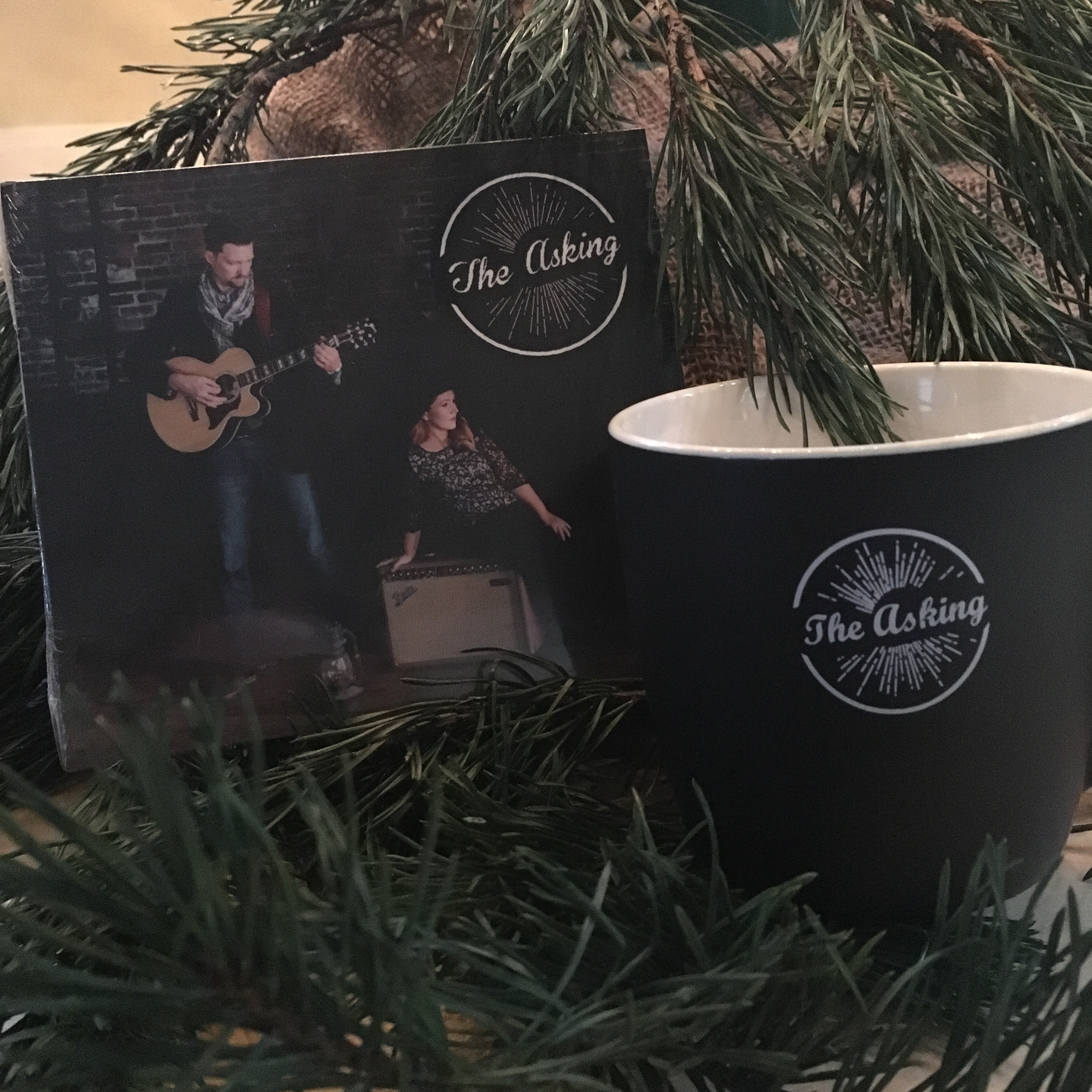 The Asking Holiday Merch