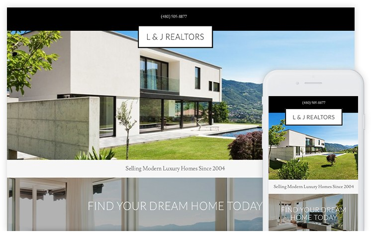 overservhost website builder realtors