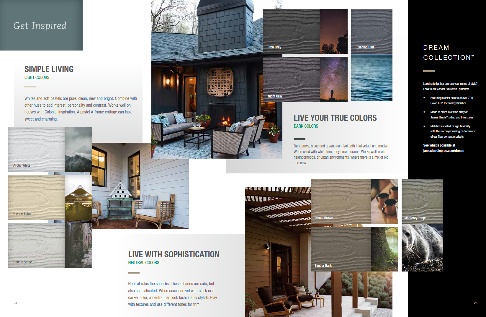 James Hardie Dream Collection