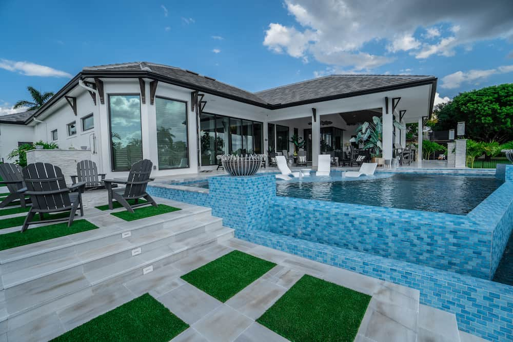 Beautiful Naples Pool Paver Installation
