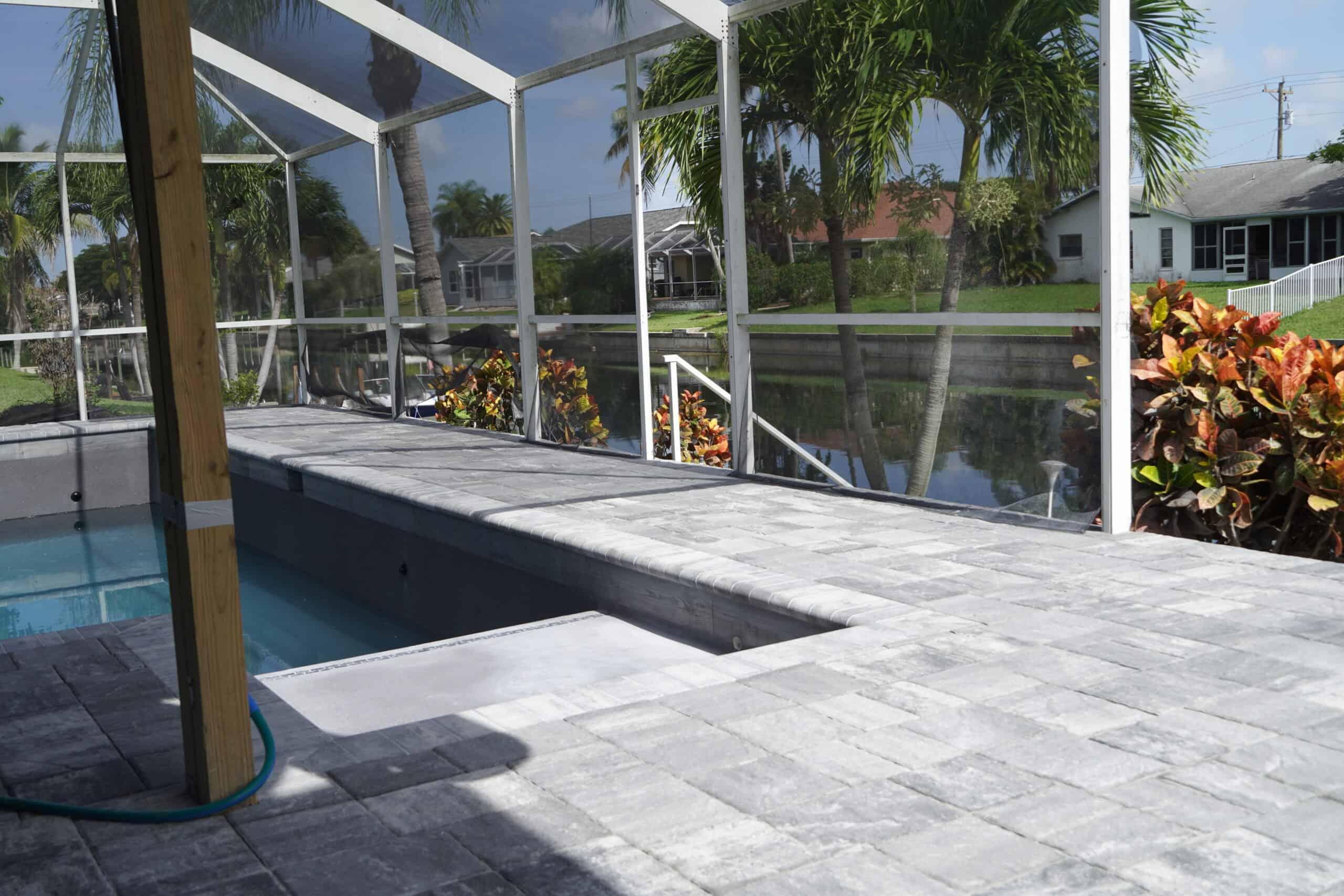 Bonita Springs Florida Paver Pool Decks B
