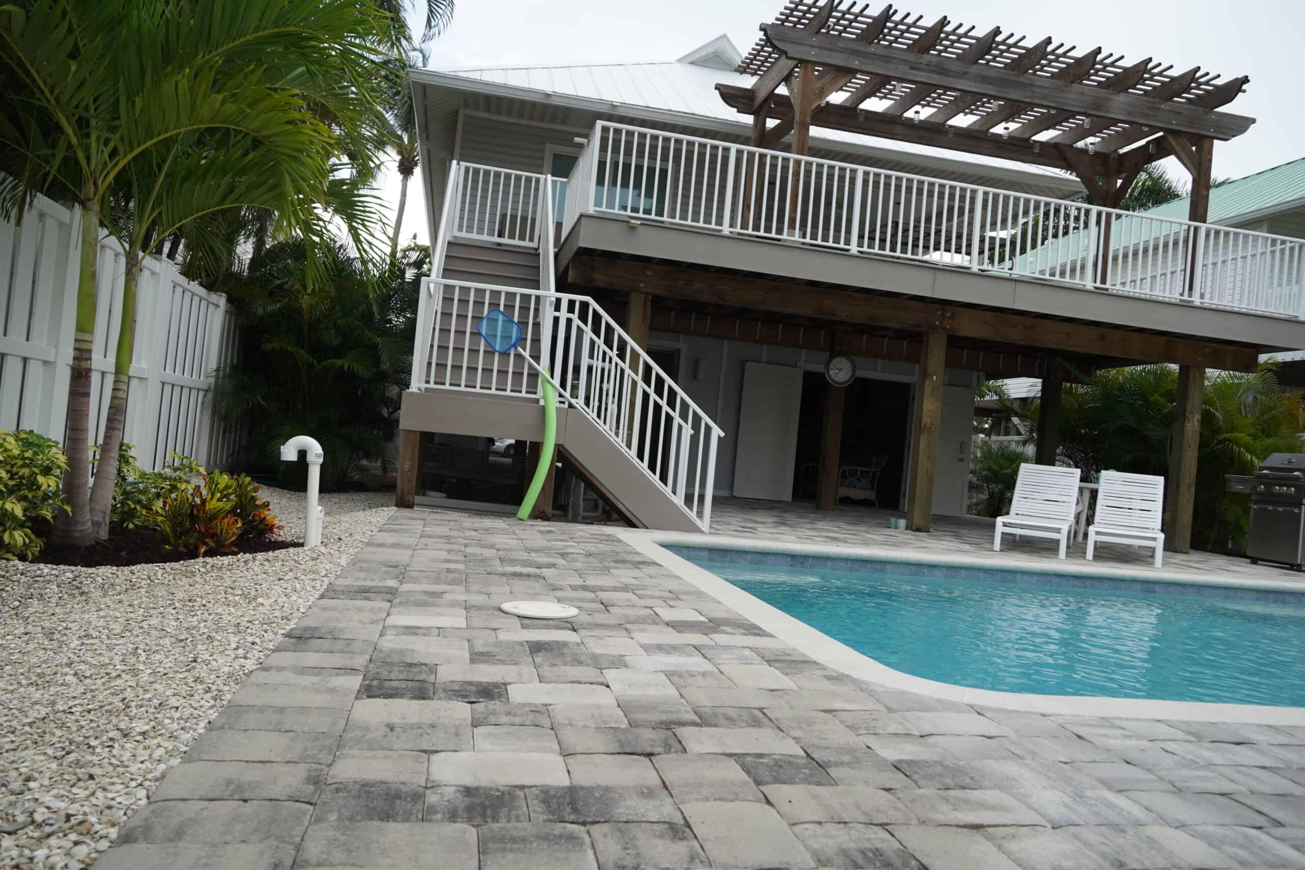 Naples FL Pool Deck Paver Installation A