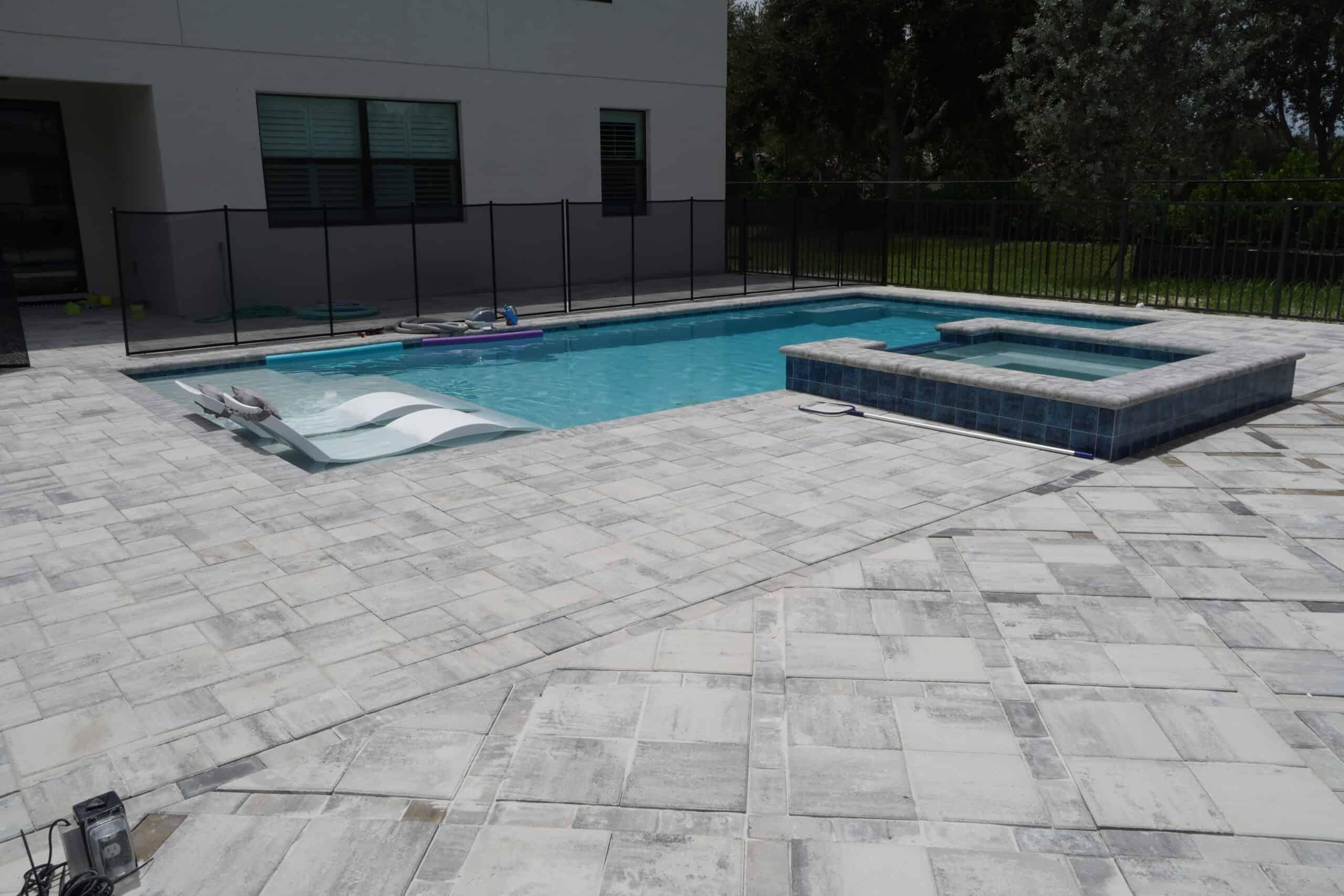 Naples Florida Pool and Paver Installation C