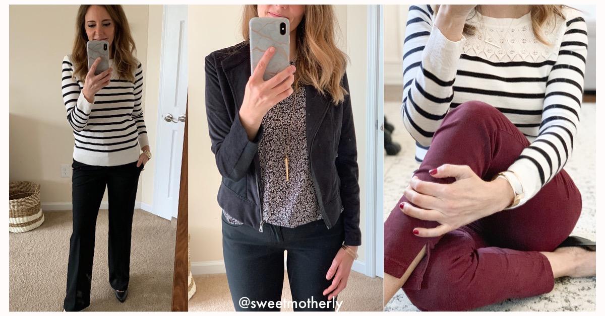 Recent Work Wardrobe Purchases