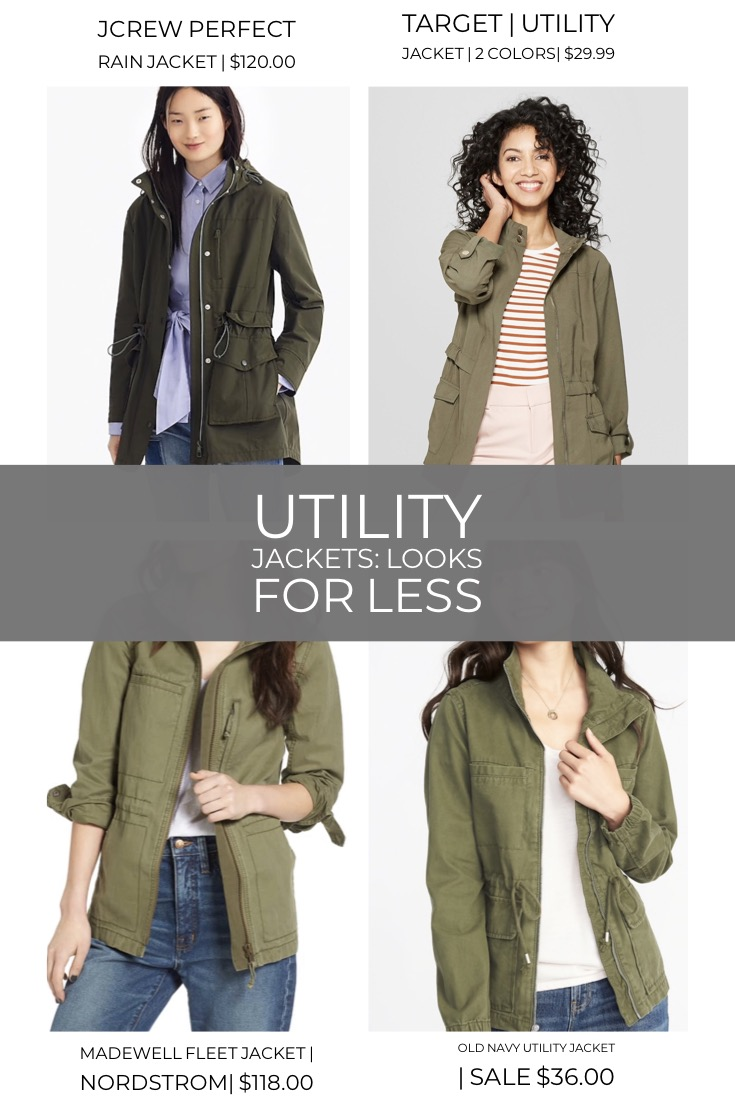 Looks for Less:Utility Jacket