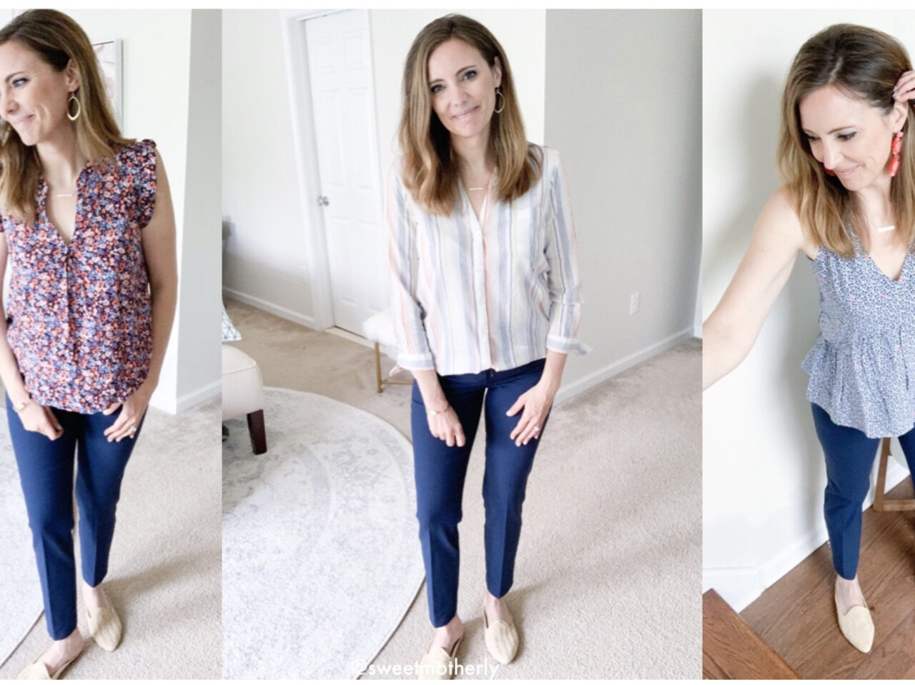My Favorite Work Pants Styled 6 Ways + a Few Extras Outfits!
