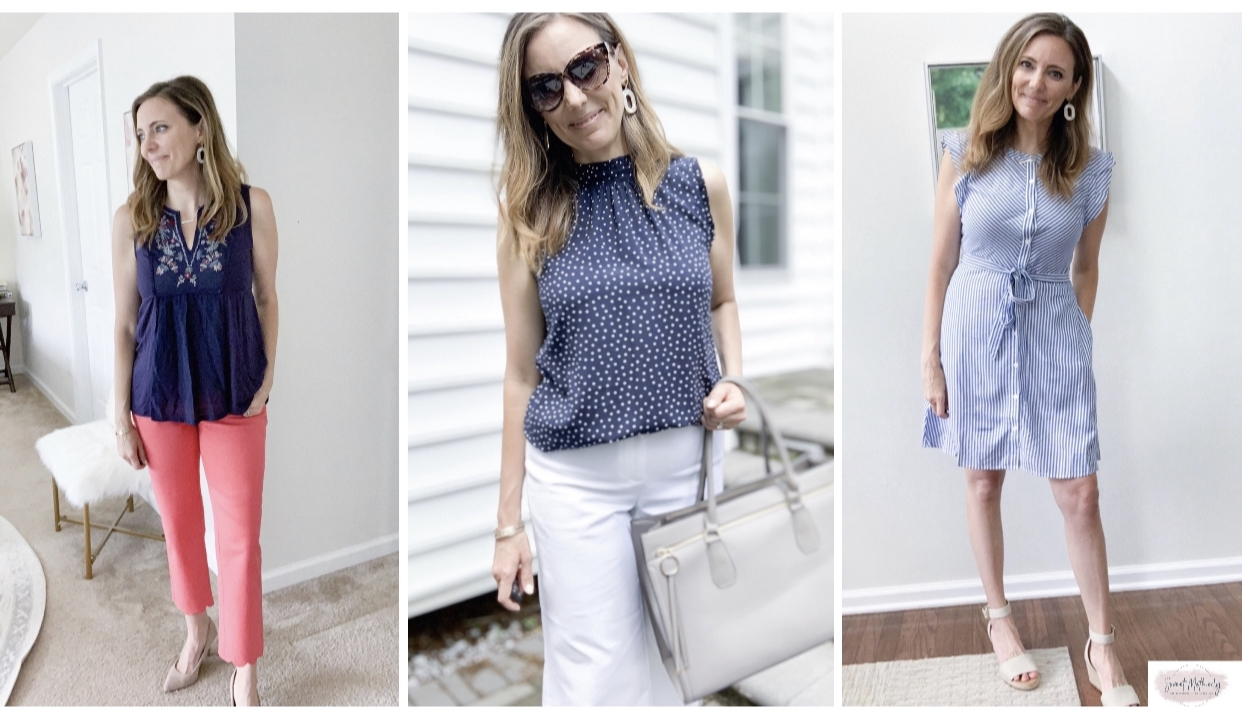 The Weekly Work Wardrobe, featuring Loft + a Few Others
