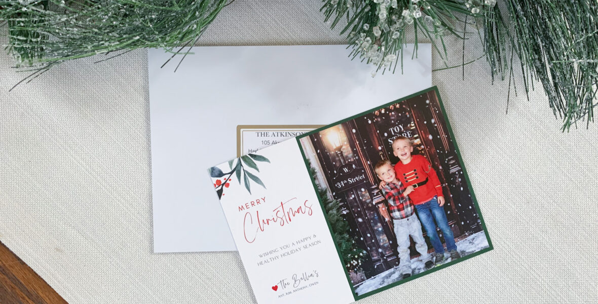 Design and Print Your Own Christmas Cards