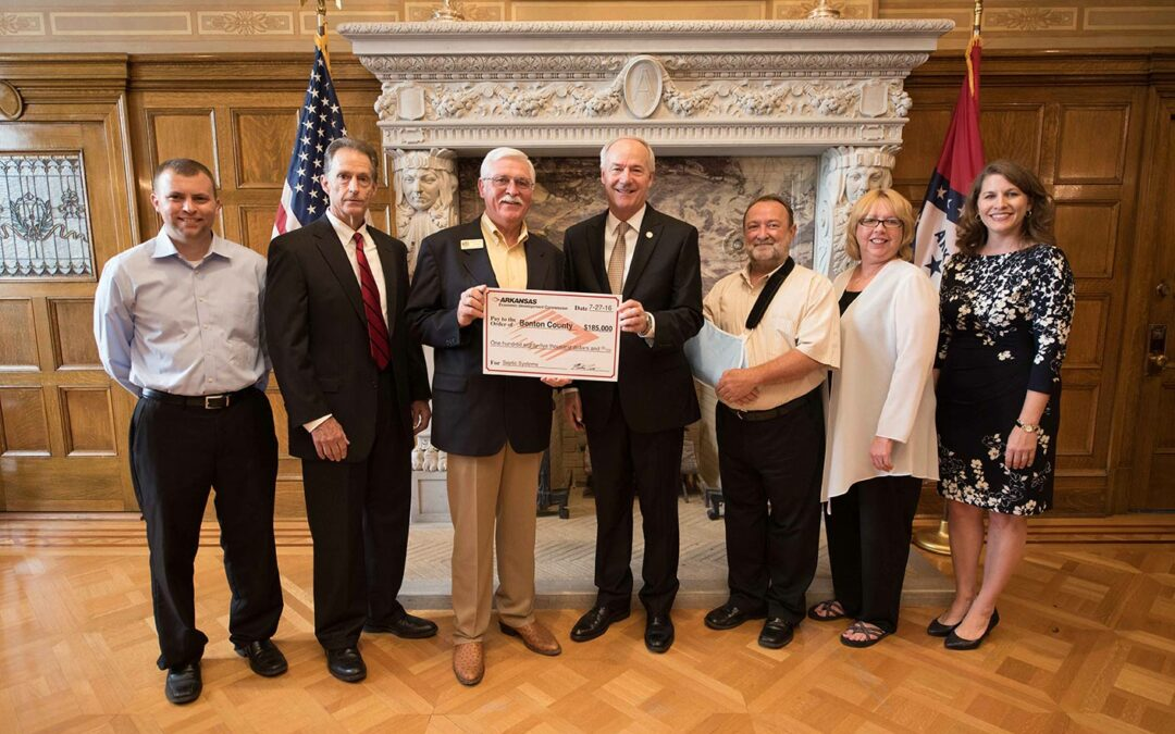 Benton County Awarded $185,000.00 from AEDC