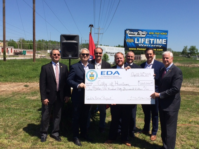 EDA Awards City of Harrison $1.6 Million for Goblin Drive Project
