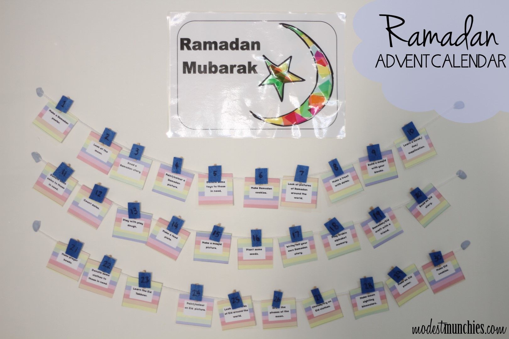 Ramadan Advent Calendar (Large)
