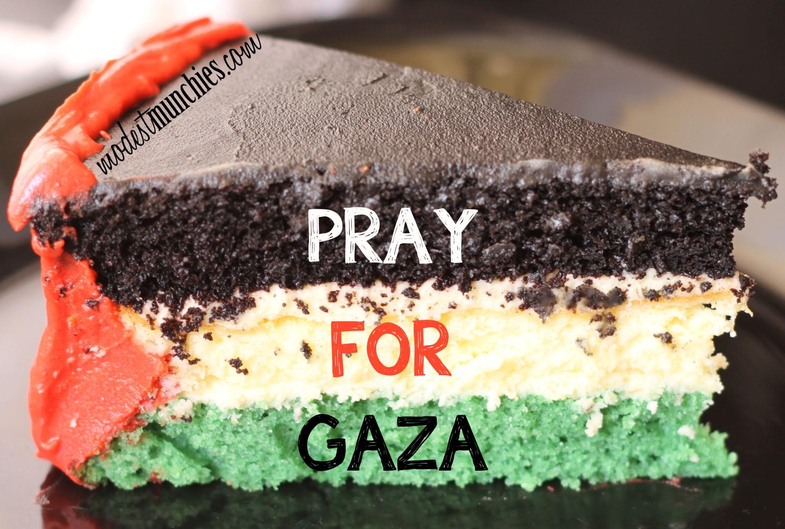 Pray for Gaza Cake (Large)