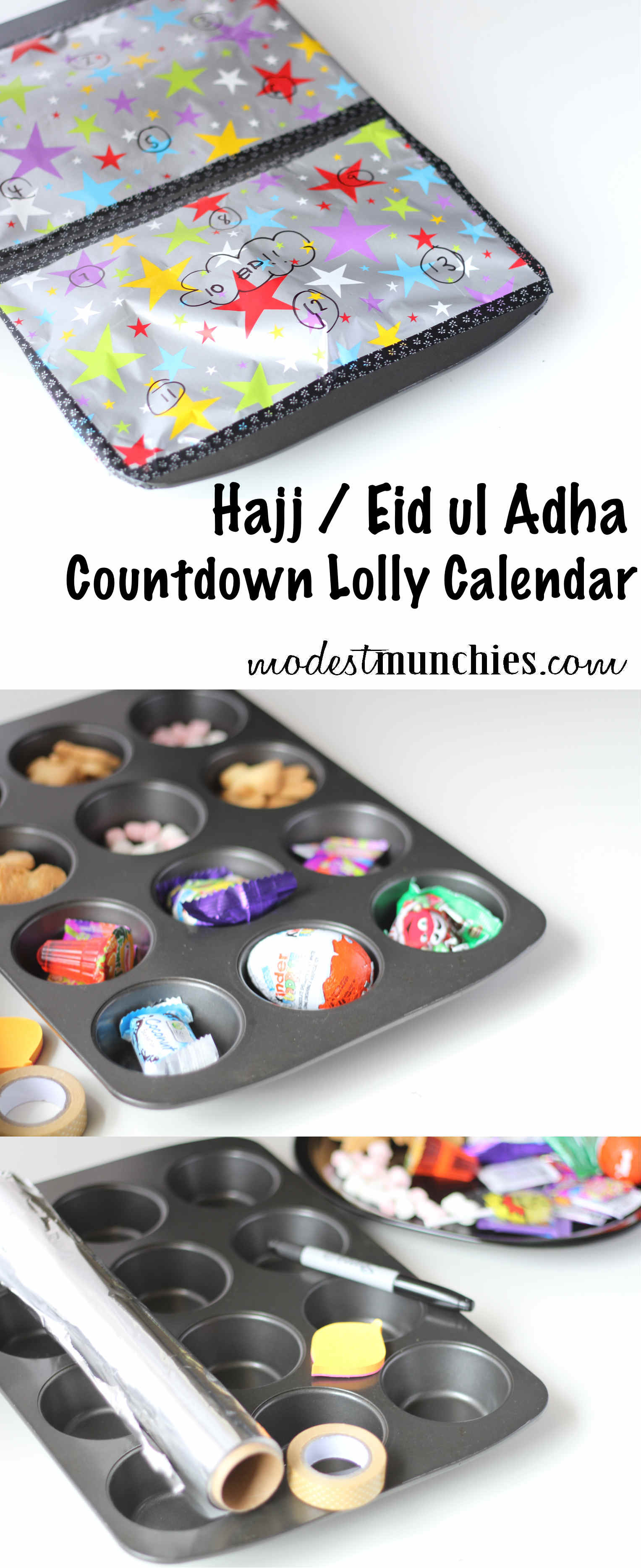 Hajj Eid Lolly Countdown Calendar