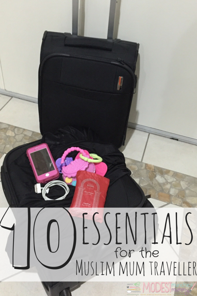 essentials for muslim mum traveller