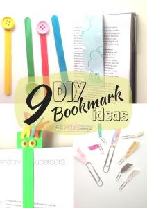 9 DIY Bookmark Ideas