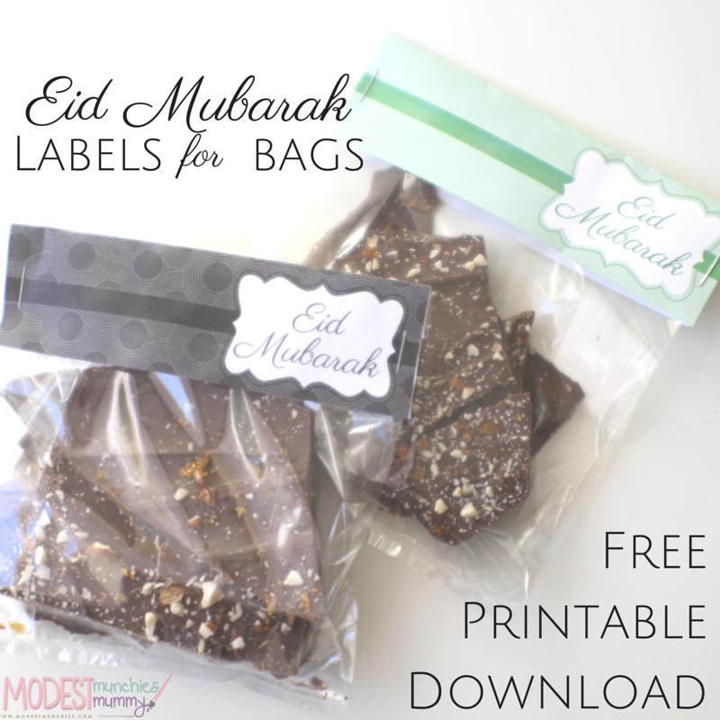 Eid labels free printables