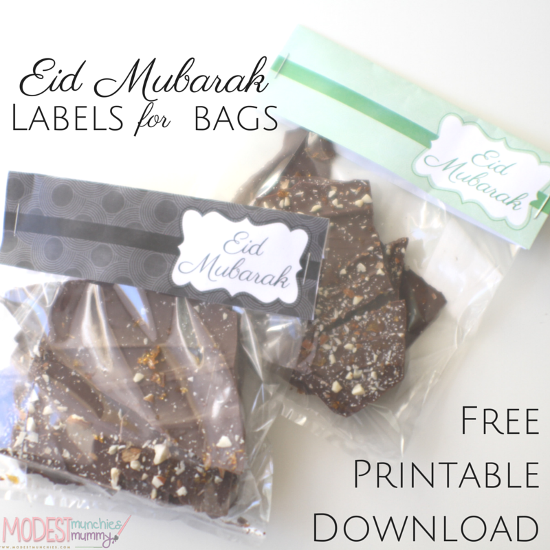 Eid labels free printables