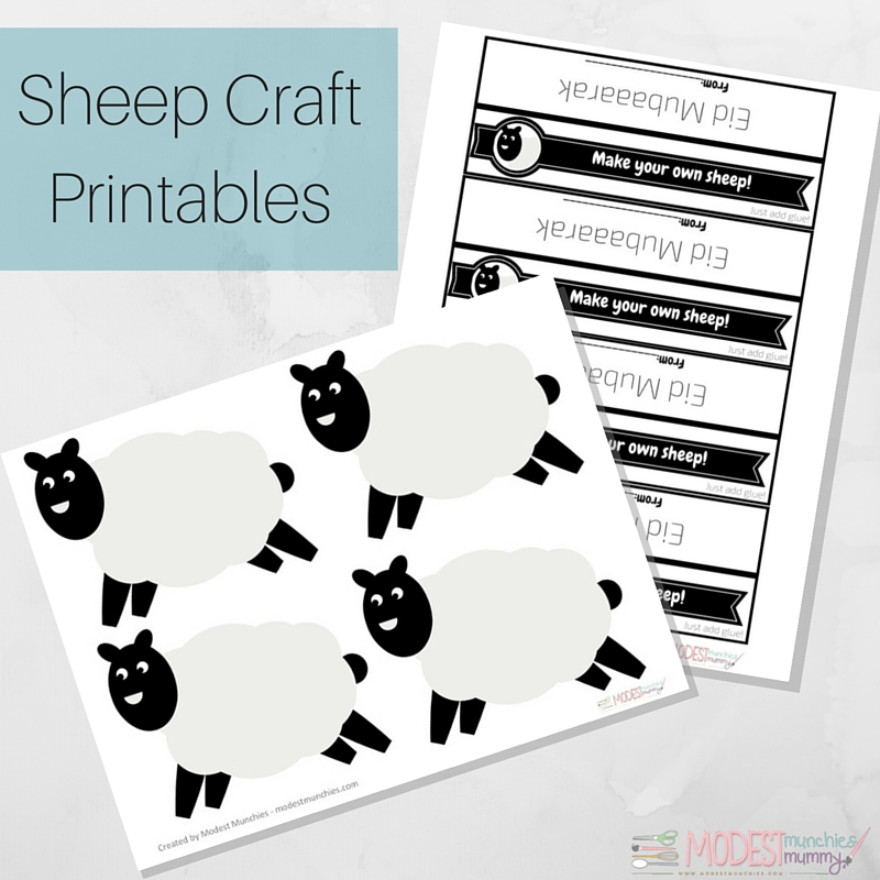 Sheep Craft Printables