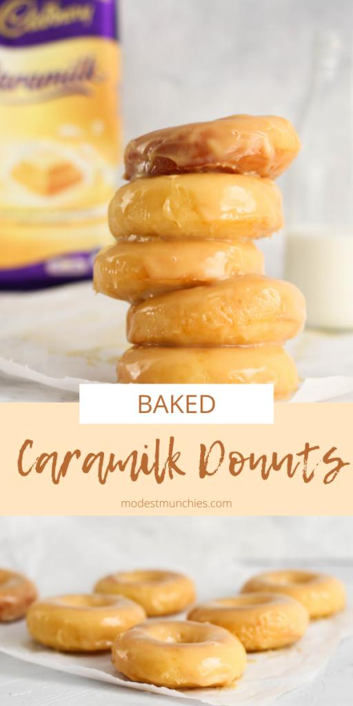 Caramilk Donuts pinterest image