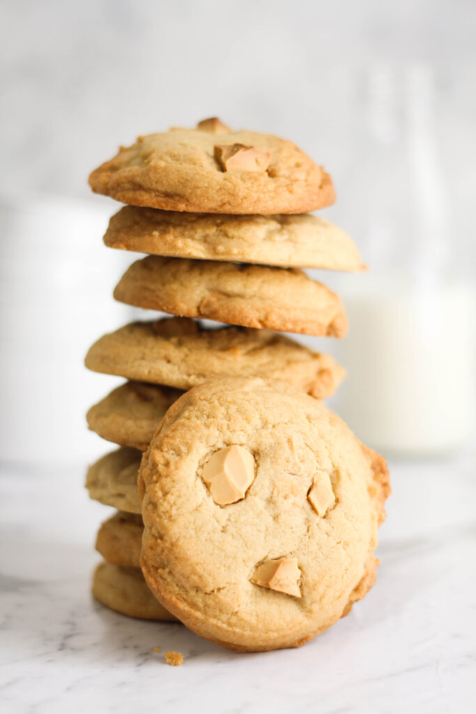 Cadbury Caramilk Cookies