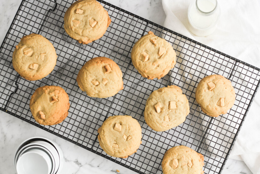 Cadbury Caramilk Chunk Cookies