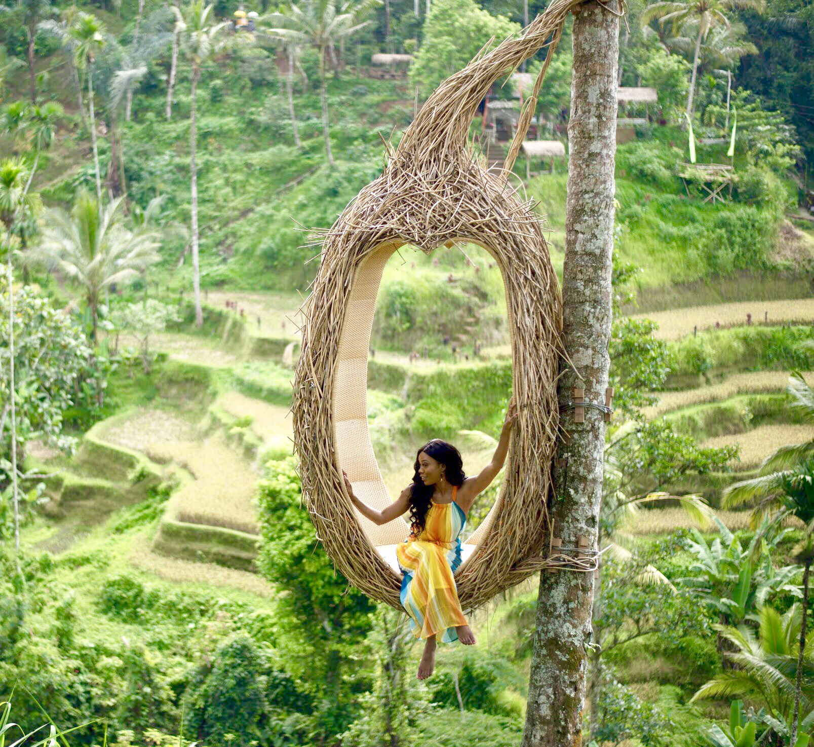 What to wear when going swinging in Bali, how to get there and the best Bail swings.