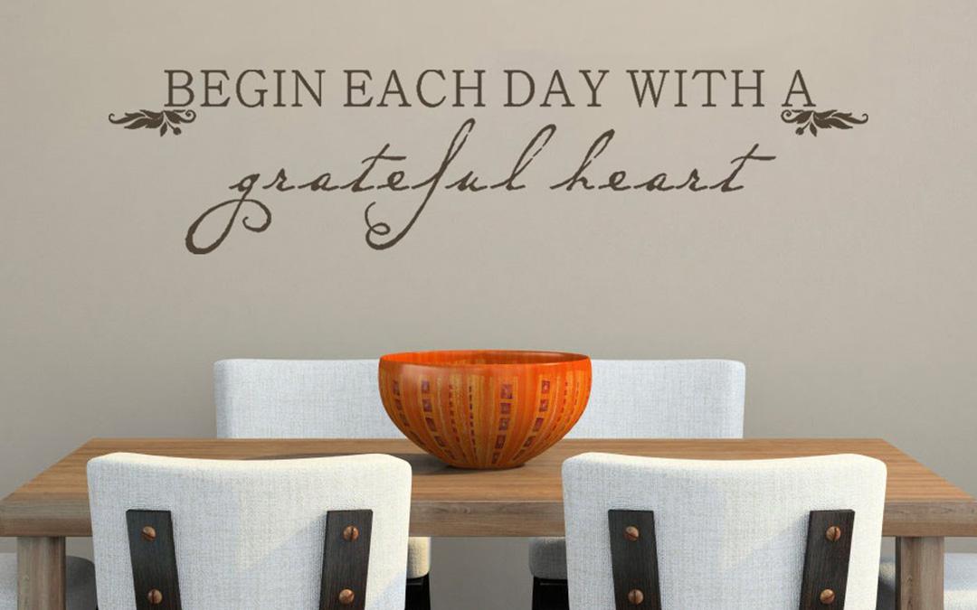 A Grateful Heart Illuminates Your Path
