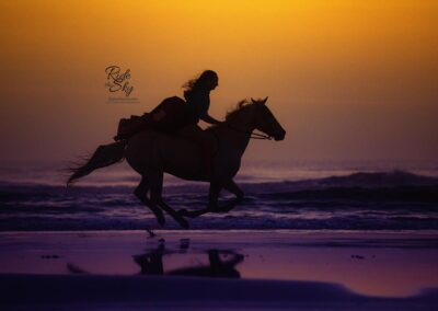 Girl-Sunrise-Horse-Beach-Picture-Tennessee-RidetheSkyEquine