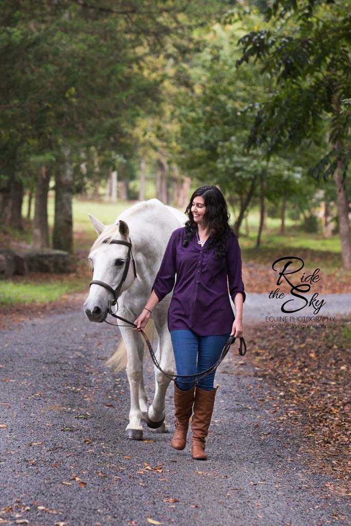 Girl and Horse photographed at Hidden Hills Farm & Saddle Club in Ooltewah, TN