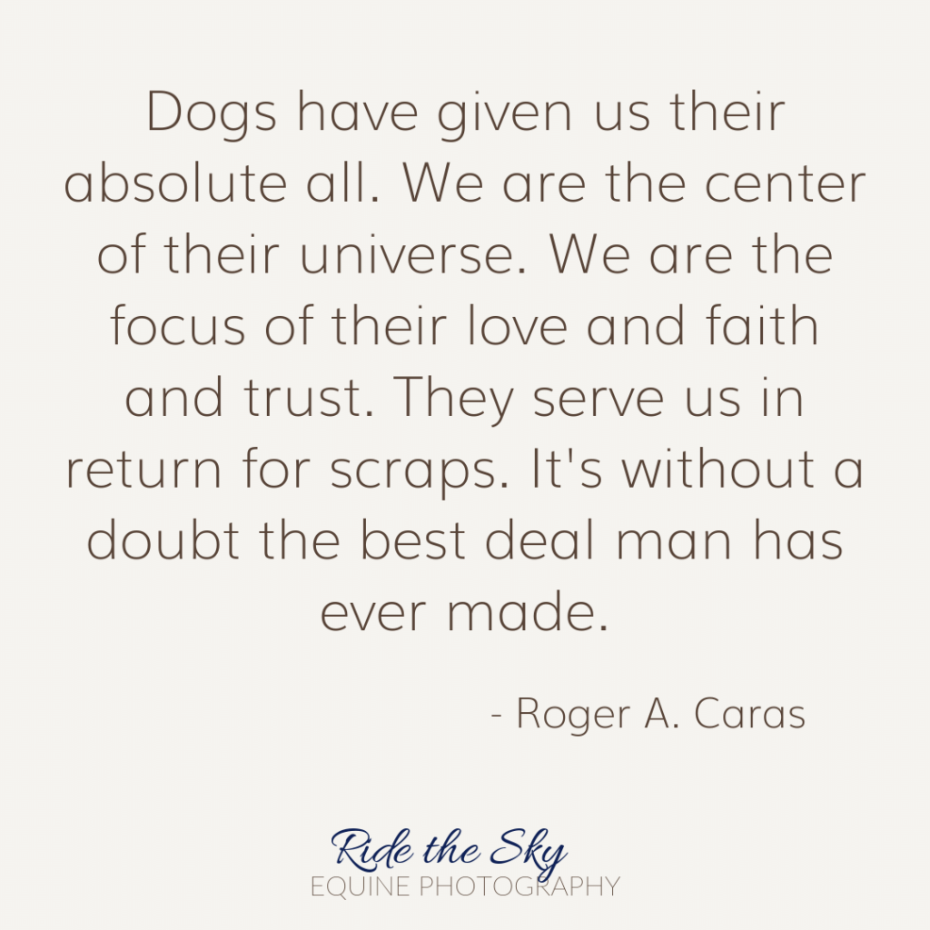 Rodger Caras Dog Quote