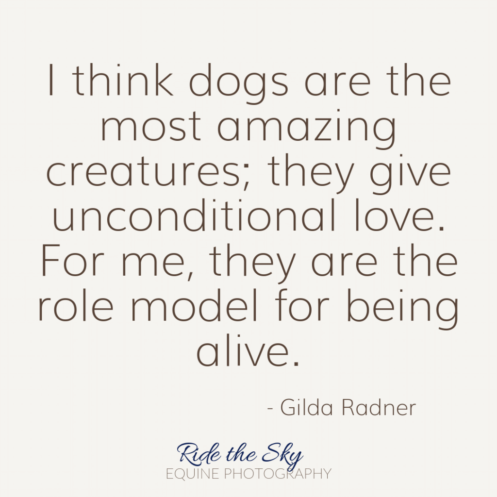 Gilda Radner Dog Quote