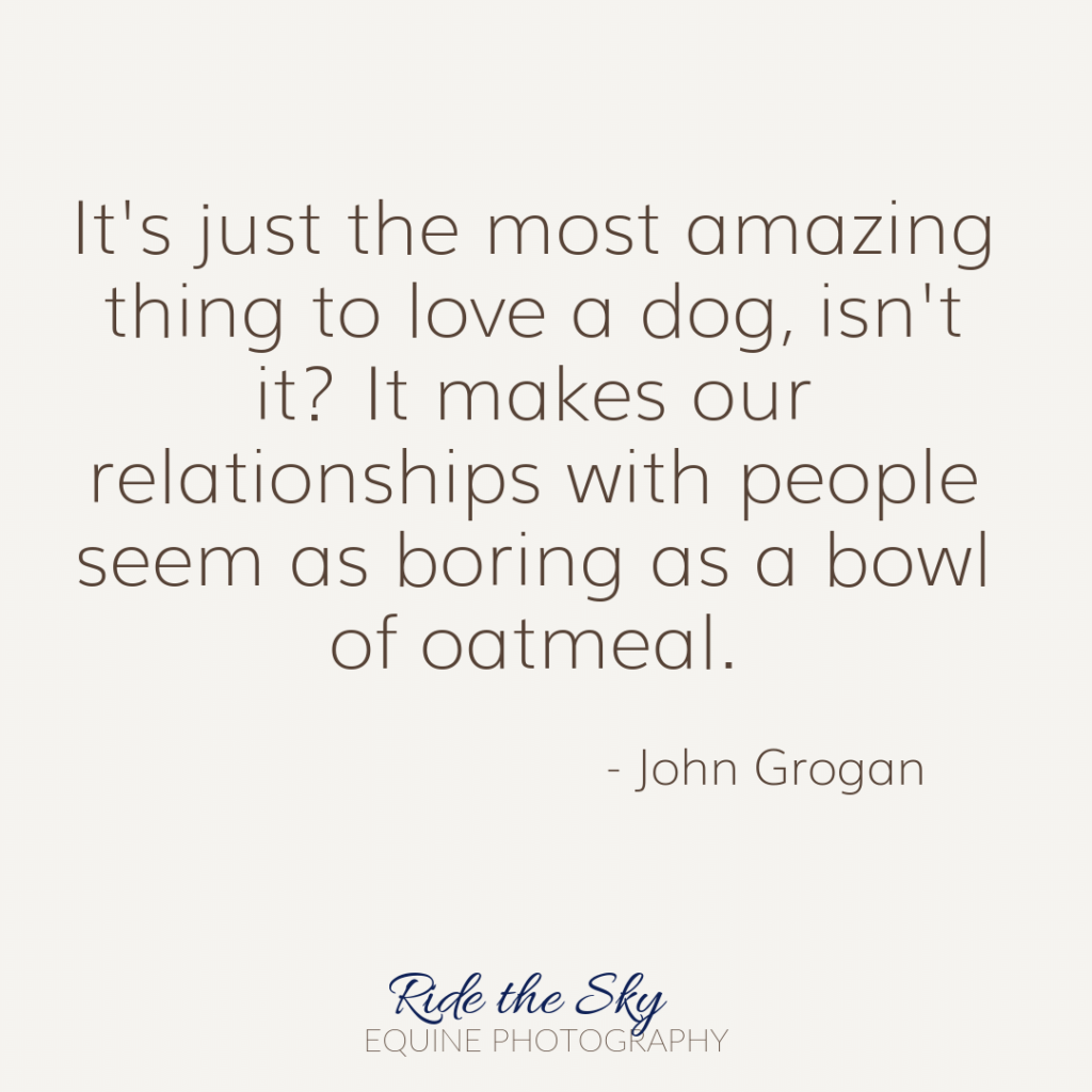 John Grogan Dog Quote
