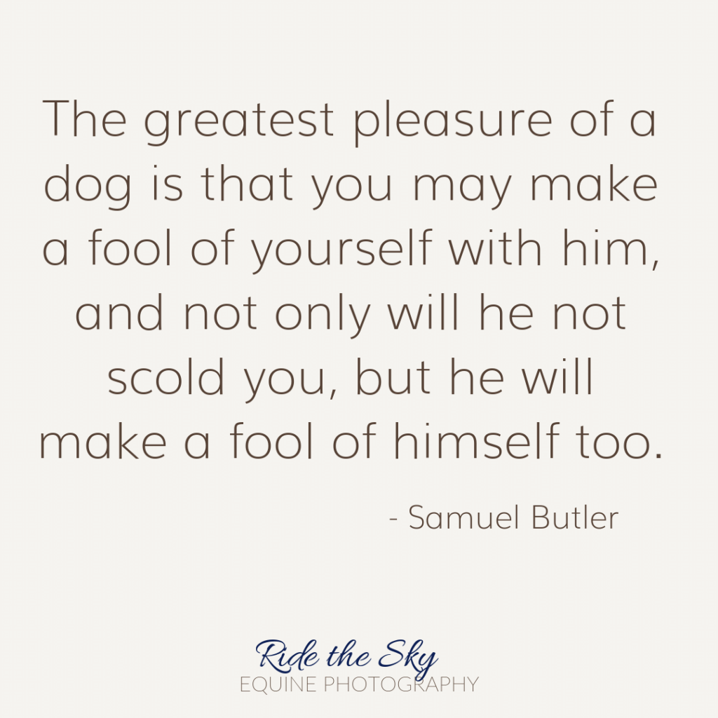 Samuel Butler Dog Quote