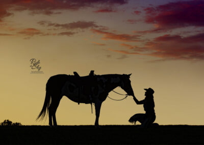 Cowgirl-Horse-Silhouette-Georgia-RidetheSkyEquine