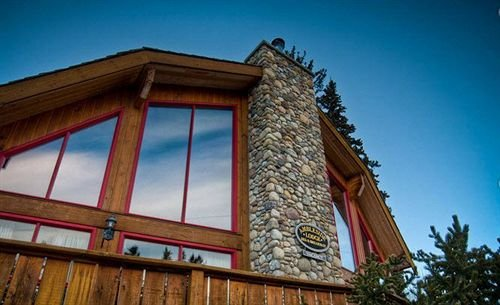 Largest Stone Fireplace in Canmore