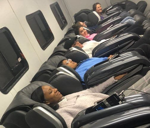 Relaxing Massage Chairs