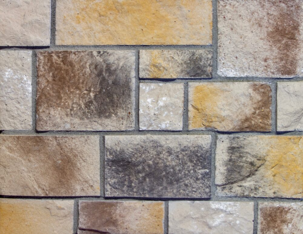 COLOSSEUM in EURO Cobble Manufactured Stone Veneer by ZEMENT Stone