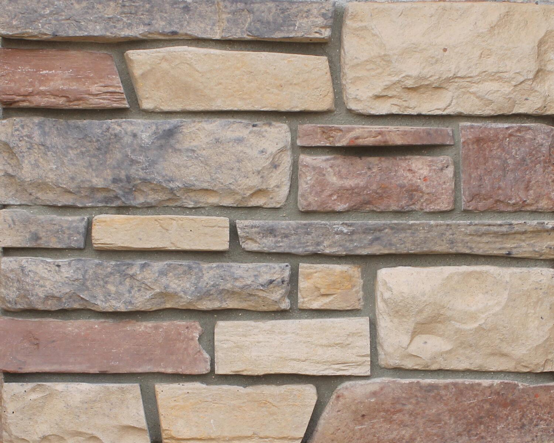 NEWGRANGE shown in Savannah Ledge Manufactured Stone Veneer by ZEMENT Stone